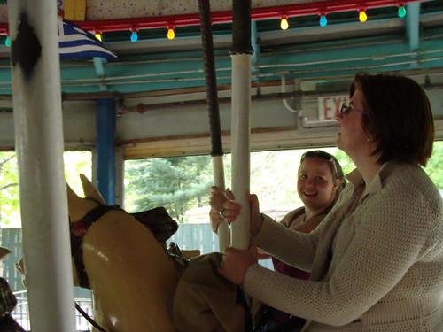 Carousel in Corona Park.