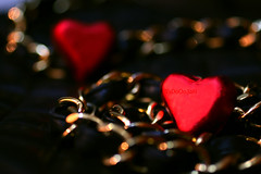 ..     (Weda3eah*) Tags: red 2 3 black love gold heart chanel handbag weda3eah