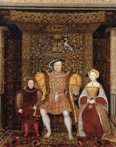 18- La familia de Enrique VIII- detalle