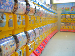 Toy paradise (BuckyHermit) Tags: canada toy dispenser bc britishcolumbia machine richmond guessed metrovancouver guesswherevancouver luluisland richmondpublicmarket pointcptobvious
