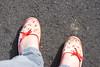 (ToranasaurusRex) Tags: feet shoes dirtyshoes