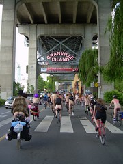 World Naked Bike Ride Vancouver 2008 (stevenbrandist) Tags: canada ass bike bicycle flesh vancouver naked granville britishcolumbia bottom arse cheeky 2008 worldnakedbikeride 1lesscar