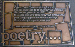 Library Walk Plaque 17 by ATIS547, on Flickr