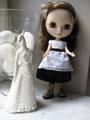 Little brown Alice in Wonderland