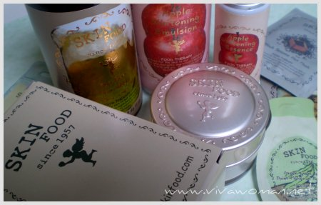 Korean SkinFood Cosmetics & Skin Care Range