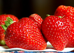 Strawberries (Ray .) Tags: strawberries naturesfinest cheverly macromarvels explorewinnersoftheworld explorejune142008303