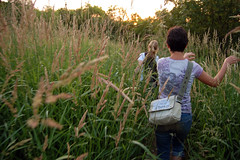the valley (maureen_sill) Tags: ohio people plants field walking walk meadow taylor vegetation lakewood vicki thevalley