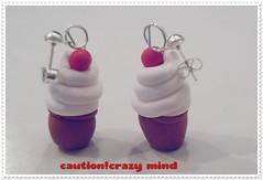 *crazy cream* (Fede.Filava) Tags: fimo earrings orecchini