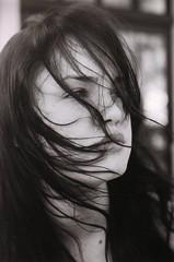 (TashaLoz) Tags: bw film beautiful contrast canon wind snapshot breeze stong ftb