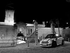 MINI @ Montjuich Castle (picsfrombcn) Tags: barcelona castle sport speed john rally mini s el racing clot cooper bmw works castillo montjuic montjuich castell jcw formulamini motoringunderground masmini