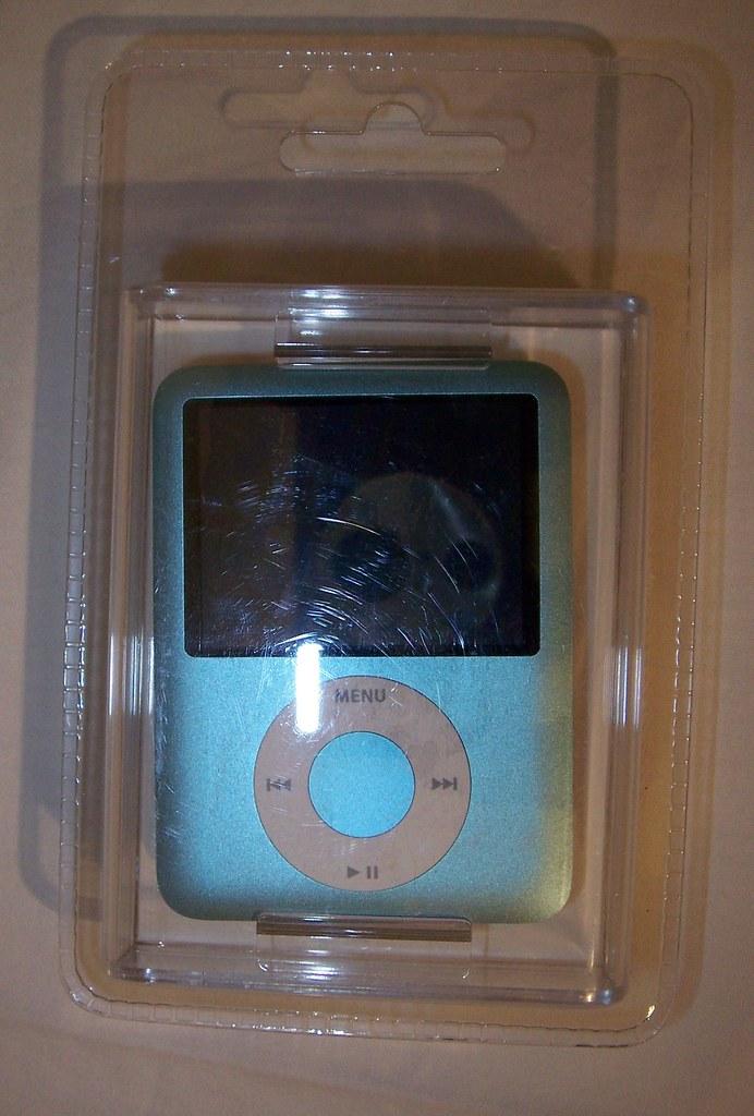 APPLE IPOD NANO 8GB 3G, BLUE
