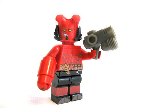 Jordan's Hellboy is the ultimate custom LEGO minifig | The ...