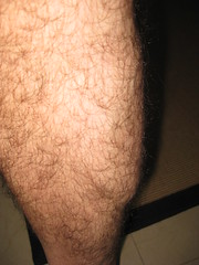 right calf nice and smooth (and hairy) (thomas pix) Tags: eyefi