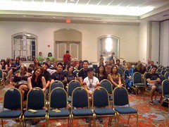 The audience at the Blog panel I'm on right now!