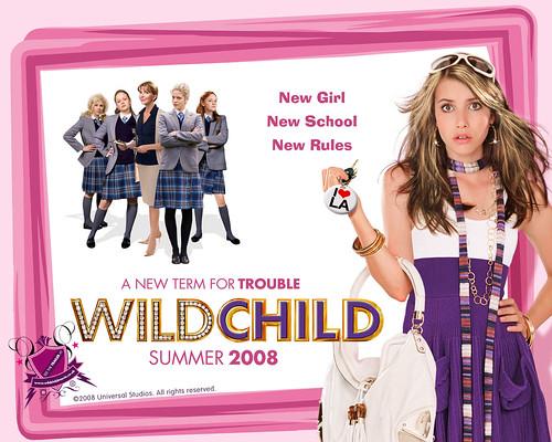 Wild Child 2008 Movie Wallpaper by divxplanet.