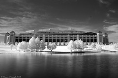 The Ballpark in IR (Shawn O'Connell Photography) Tags: sports arlington digital ir nikon texas d70 baseball stadium infrared dfw rangers texasrangers ballpark h72 hoya72 theballparkinarlington top20ir top20texas bestoftexas shawnoconnell shawnoconnellphotography