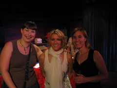 Me, Cerys Matthews and Lib