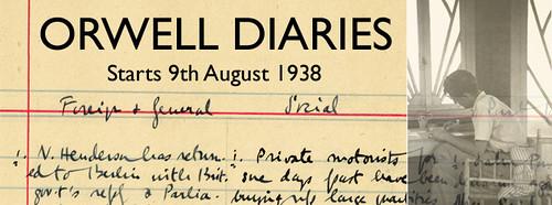 George Orwell's diaries