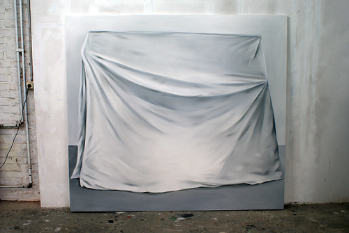 Charlotte Beaudry : Last works, studio view by Marc Wathieu.
