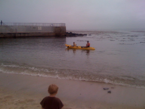 Kayaking in Pacific Grove