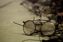 A pair of (many) glasses (Pawel Sawicki) Tags: glasses property auschwitz item victims birkenau concentrationcamp individual shoah okulary holokaust mienie jednostka pawesawicki