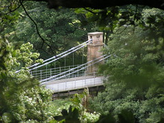 Whorlton Suspension Bridge, 1831 (ralph&dot) Tags: bridge river photographer suspension bridges ralph tees gant whorlton digitalcameraclub