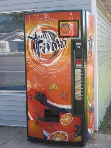 fanta vending machine