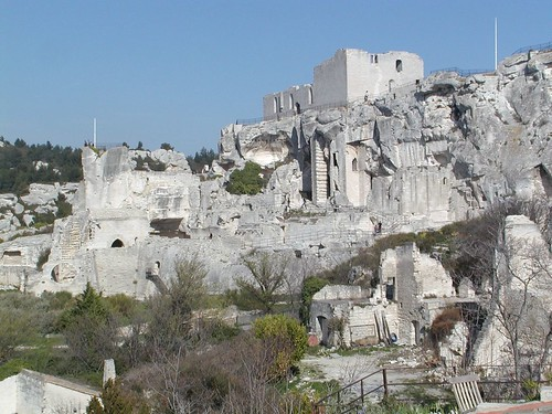 The Chateau at Les Baux de Provence