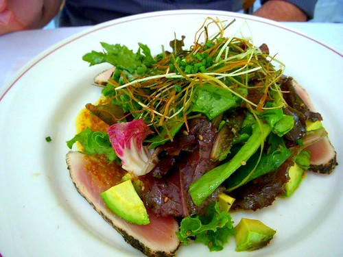 seared albacore tuna salad