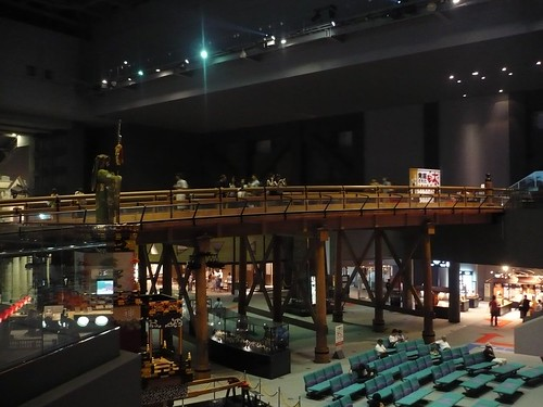 The old Nihonbashi in the Edo-Tokyo museum
