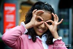 Her Glasses ;) (abdull) Tags: girl canon 50mm austria see kid 14 kuwait usm innsbruck xsi abdullah noura 450d alhamad