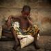 Benin - Porto Novo Thinking Boy