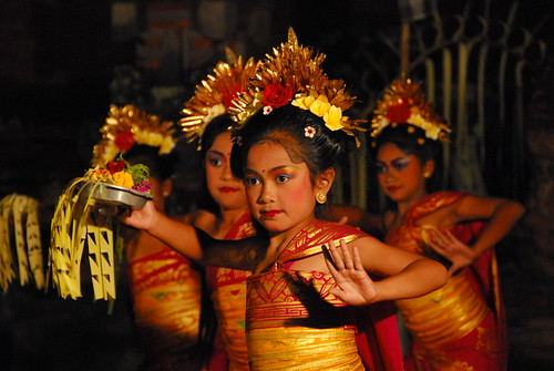 Dancing Children, Ubud
