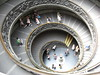 summer 2008 Rome (tammys_travels) Tags: people italy vatican rome building stairs spiral europe catholic interior religion spiralstaircase vaticancity europeunion exitstairs rampstaircase