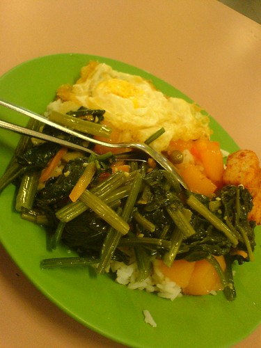 Primary school food=Cheap and good.