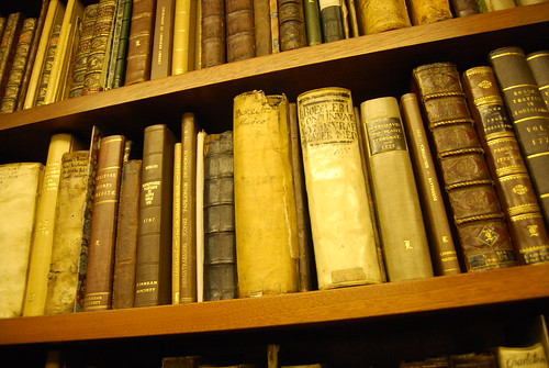 Old books in the Linnean Herbarium