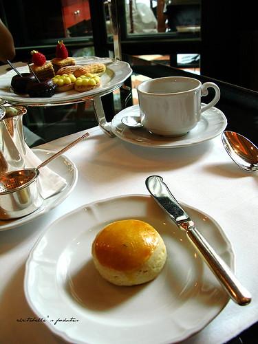 西華飯店Harrod's午茶之scone & sweets