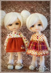 Fall Preview! (Emily Szettella) Tags: fall cat doll dress handmade elf coco lea corduroy latidoll lati lilstiches emilyszettella