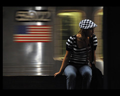 checkered & striped ... (Dreamer7112) Tags: nyc newyorkcity people ny newyork motion subway nikon waiting metro manhattan mtro lowereastside explore motionblur mta subwaystation juxtaposition checkered striped iny inmotion nycsubway nysubway waitin d300 novaiorque newyorkcitytransit newyorkcitysubway nyctransit metropolitantransportationauthority dreamer7112 bokehlicious waitingforthesubway artelibre news21  nikond300 nyctransitsystem  clipcook phvalue milobaumgartner yournewyorkcitysubway ontourwithmikeanke
