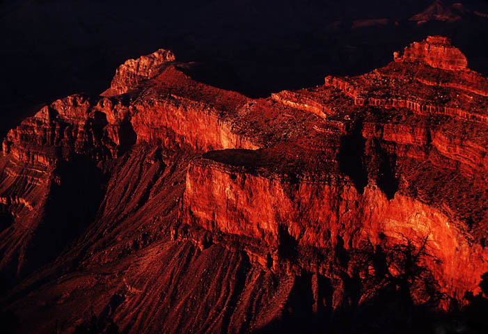Sunset on the Redwall, Grand Canyon National Park