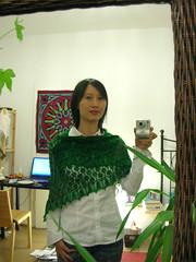 Lilly's Leaf Shawl