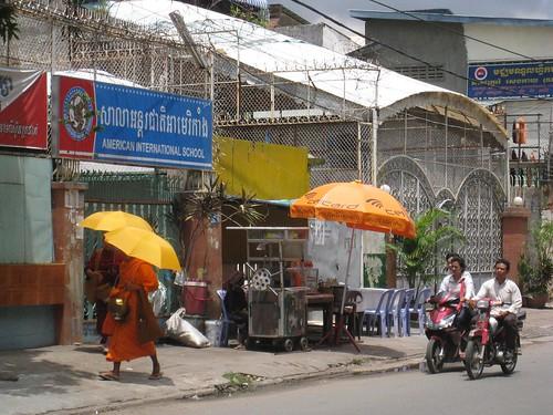 Street scene - Phnom Penh, Cambodia