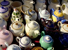 all shapes and sizes (bazkeogh) Tags: ireland market kerry teapot kenmare ringofkerry