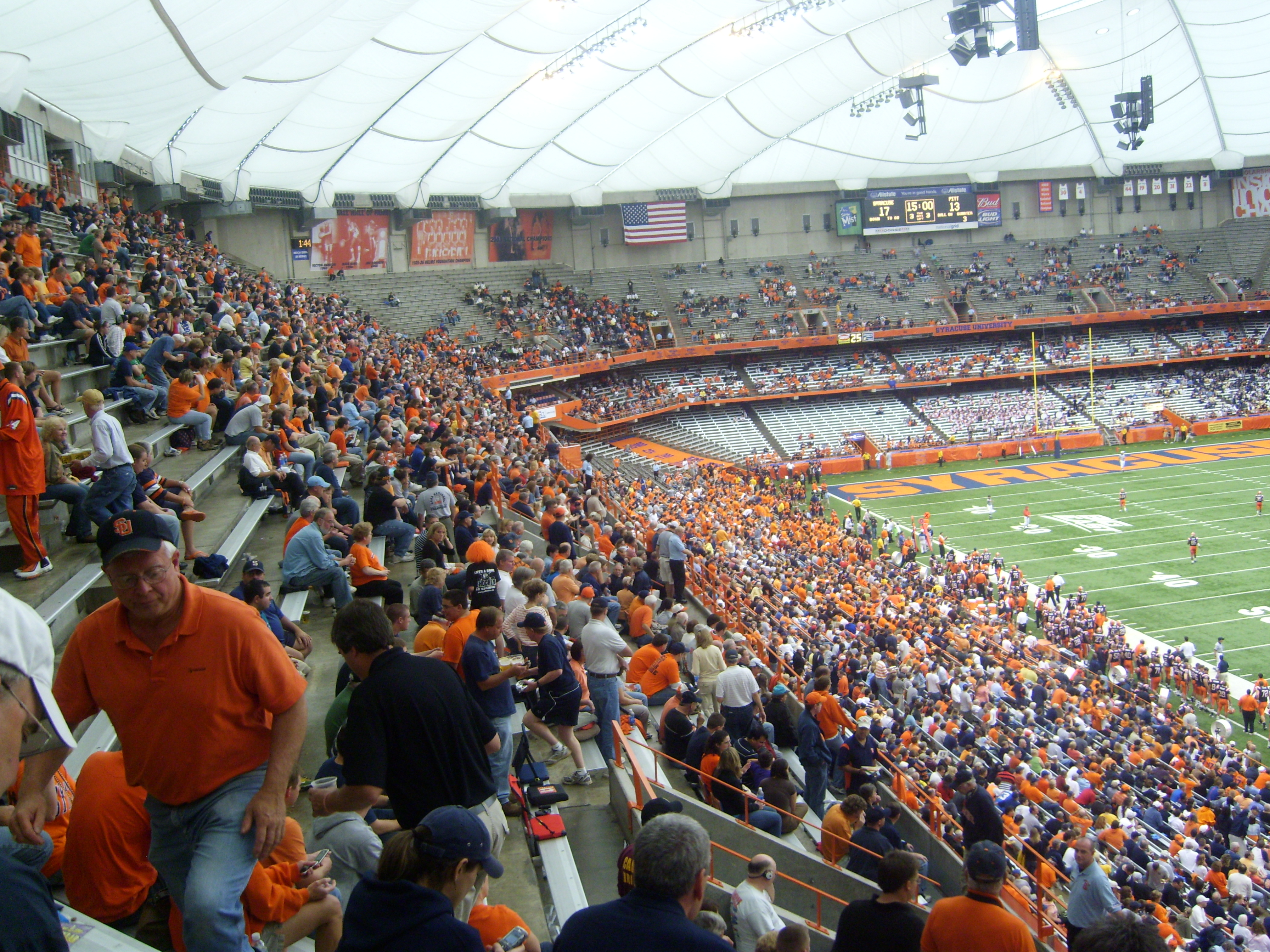 Syracuse Orange Carrier Dome