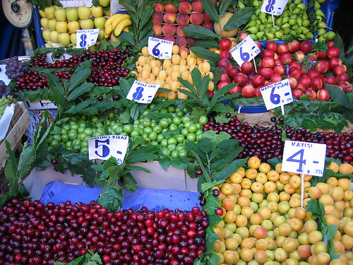 Fruits at the Spice Bazaar