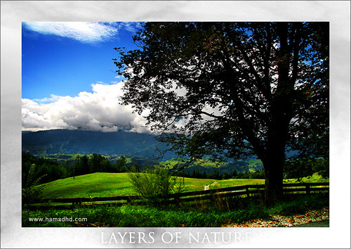 Layers Of Nature Landscape Wallpaper Windows 7. Landscape of nature Computer wallpaper