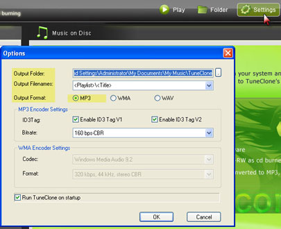 Convert WMA to iPod with TuneClone