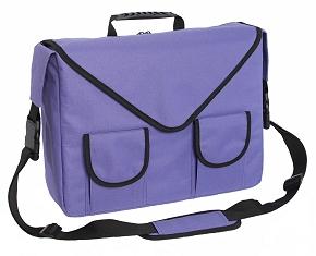 Metro-Traveler Laptop Bag from Rainebrooke - Front View