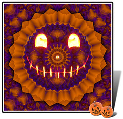 Jack-o-Scope ~(K&K15)~(MII-4)~ (Gravityx9) Tags: abstract halloween photoshop pumpkin jackolantern chop multicolored magical kk amer mii blogthis smorgasbord 1008 creativephoto mii4 digidi 102808 102908 colourartaward colourartawards coloursplosion kk15 kaleidospheres makeitinteresting