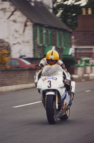 Joey Dunlop Sulby Straight 1990